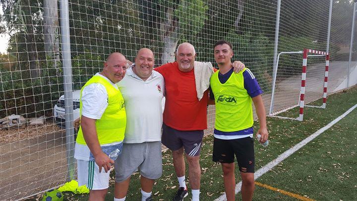 Walking Football Fundraiser For CIUDAD DE LOS NIÑOS MALAGA