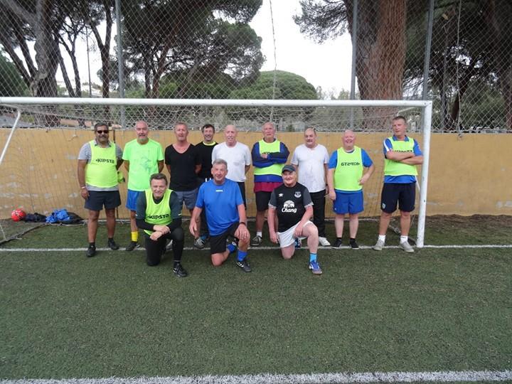 Walking Football in Elviria