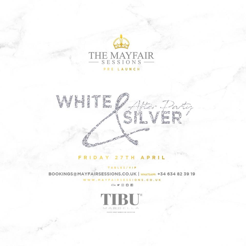 White and Silver After Party at Tibu