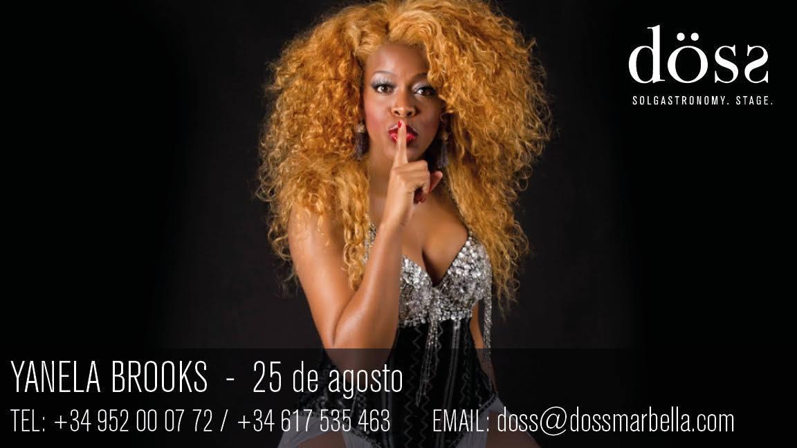 Yanela Brooks Live
