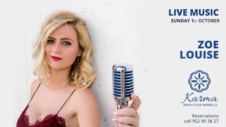 Zoe Louise Live Music