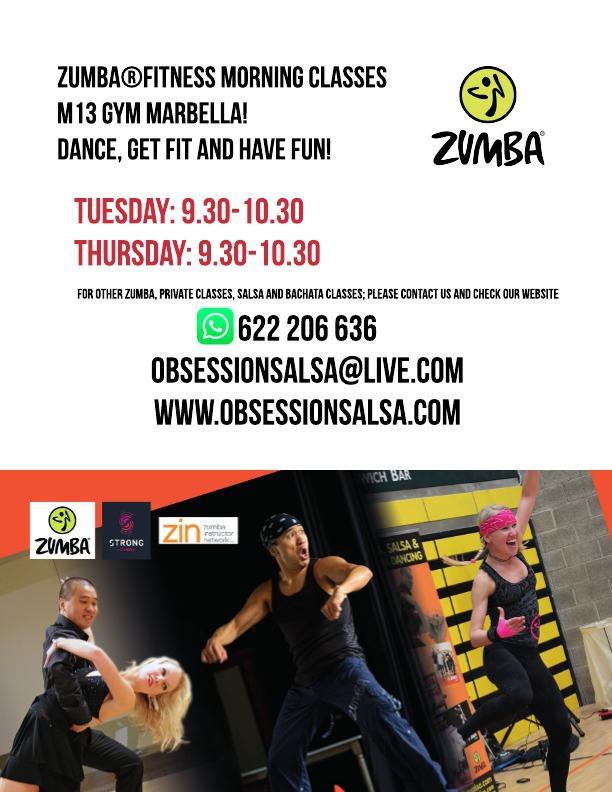 Zumba Fitness Morning classes in Centro Plaza!