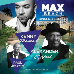 Kenny Thomas, Alexander O'Neal and Paul Maxwell live!
