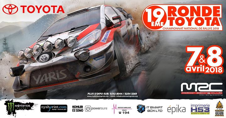 19eme Ronde Toyota 2018 - National Rally Championship 2018