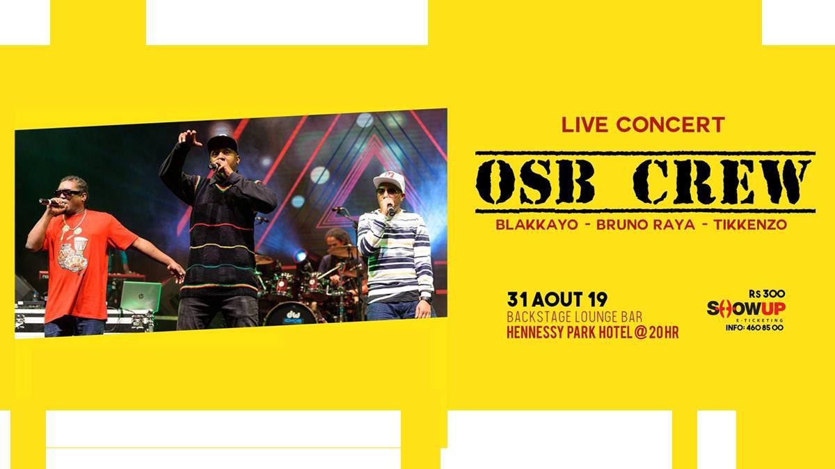 27ans OSB CREW live dan Backstage