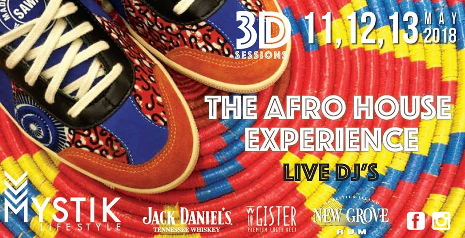 3D Session #1 - AFRO DEEP HOUSE Experience