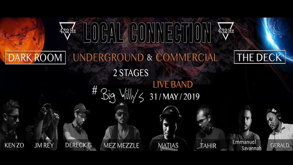 432Hz Local Connection at Big Willy's