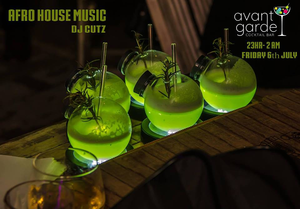 Afro House Music at Avant Garde Cocktail Bar