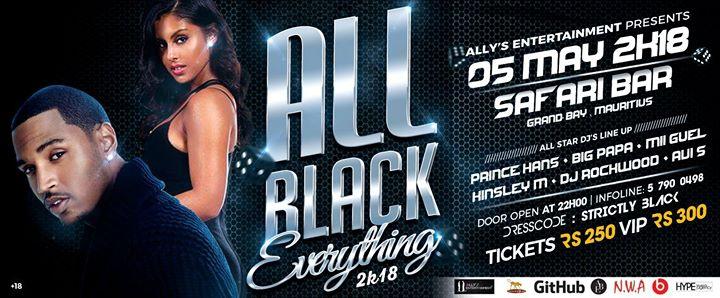 All Black Everything 2k18