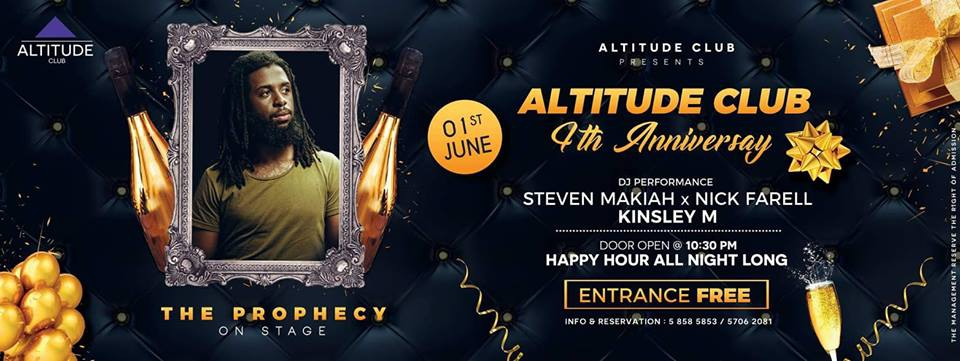 ALTITUDE CLUB 4TH Anniversary