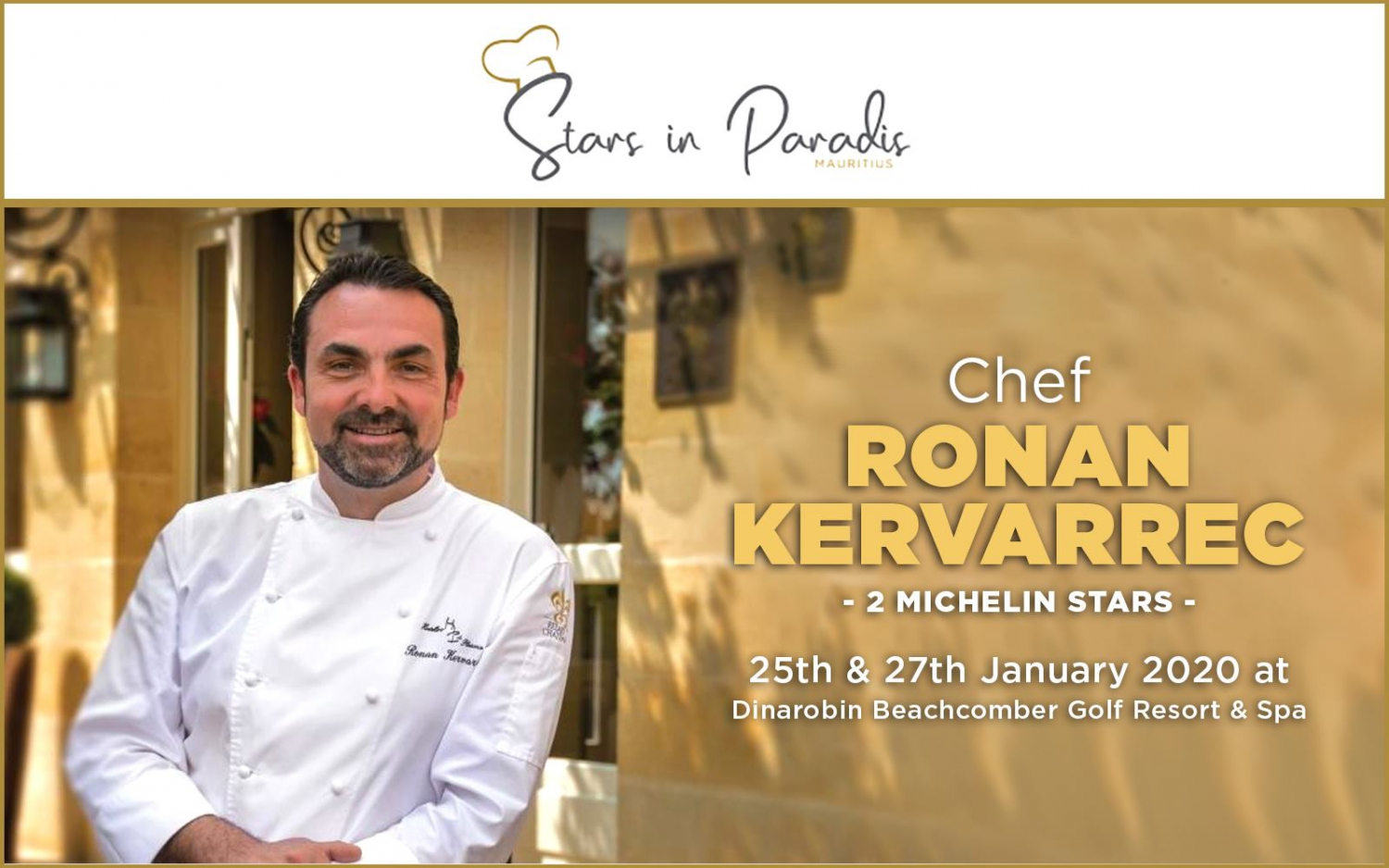 An outstanding gastronomic experience with Chef Ronan Kervarrec