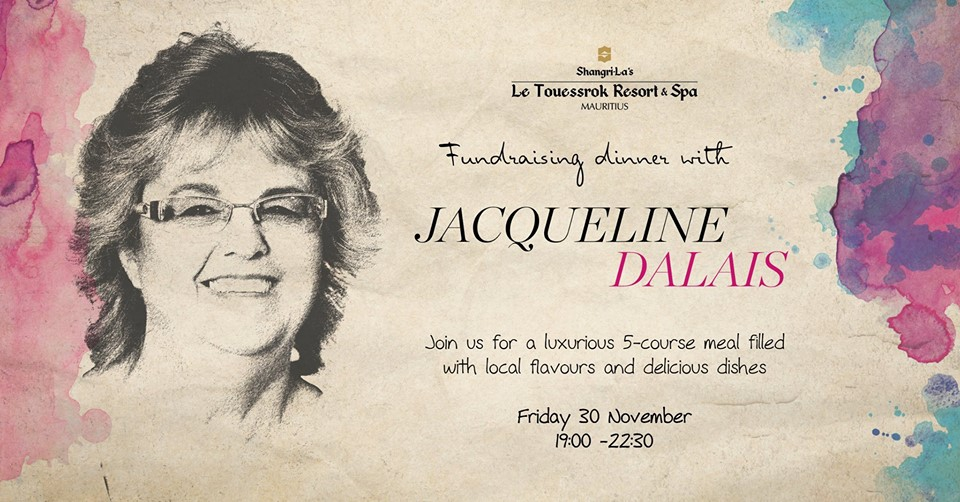 Anniversary Charity Dinner with Jacqueline Dalais at Shangri-La's Le Touessrock Resort & Spa