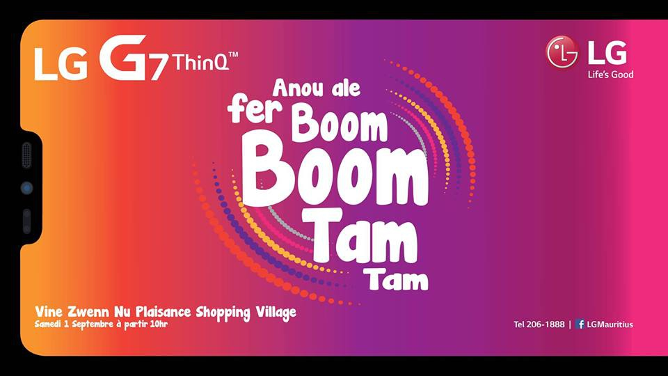 Anou ale fer Boom Boom Tam Tam at Plaisance Family Village