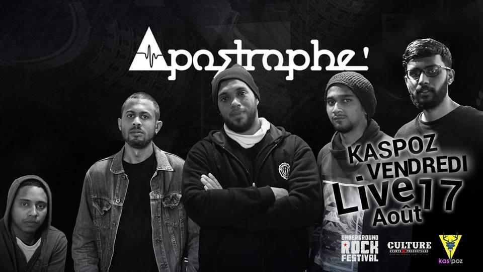 Apostrophe' // Kas Poz // Vendredi Live
