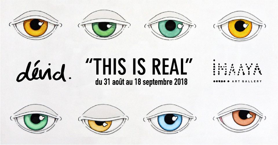 Art Exhibition 'This is real by dévid.' at Imaaya Art Gallery