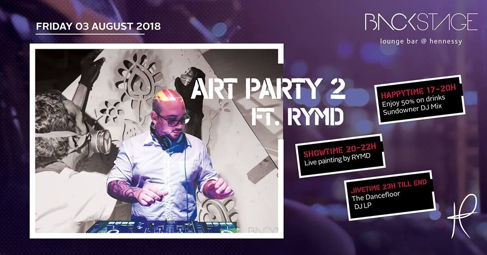 Art Party ft. RYMD at Backstage