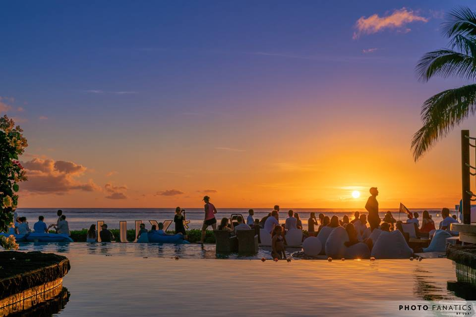 As The Sun Goes Down with Rain ft Julien Monasie at Lux* Le Morne