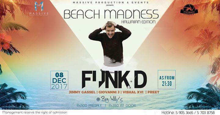 Beach Madness l FUNK D