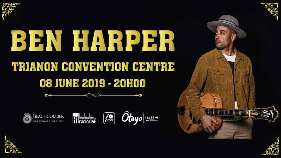 Ben Harper Live in Mauritius