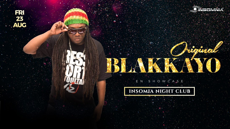 Blakkayo en Showcase a Insomnia