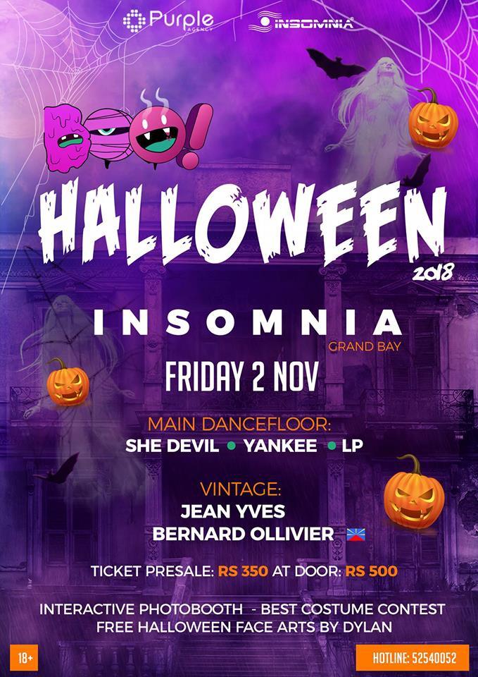 BOO!Halloween At Insomnia