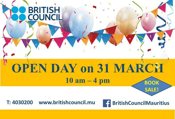 Book Sale Open Day - 31 March 2018