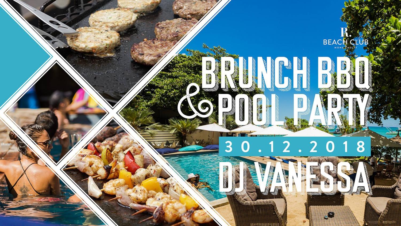 Brunch BBQ & Pool Party at R Beach Club