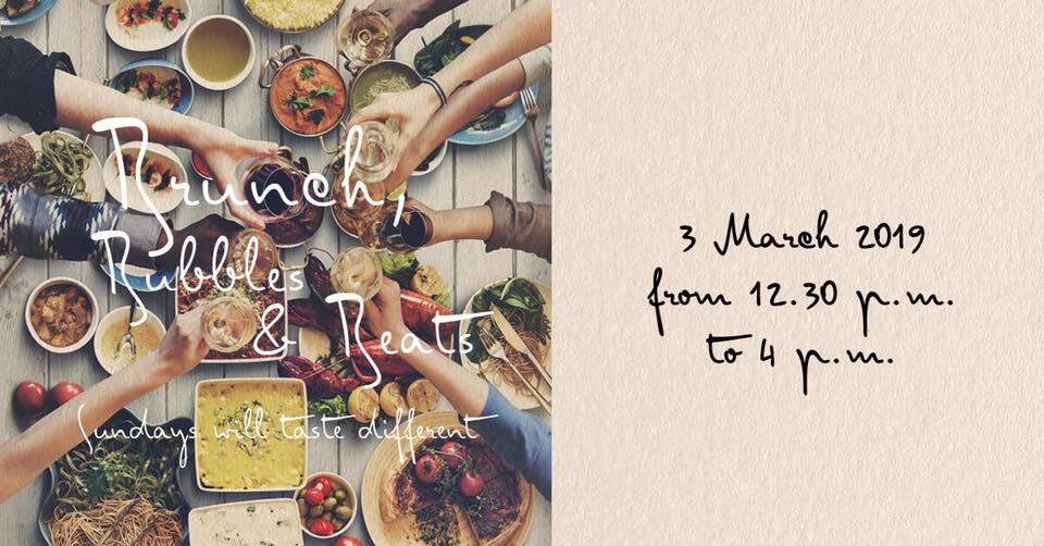 Brunch, Bubbles & Beats - 3rd March