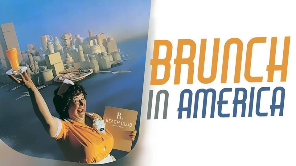 Brunch in America at R Beach Club