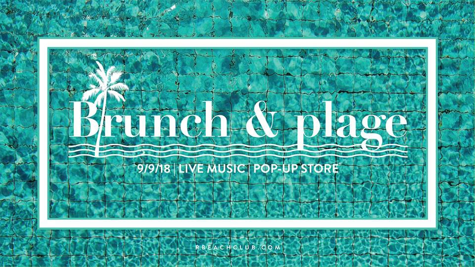 Brunch & Plage 9 Sep at R Beach Club