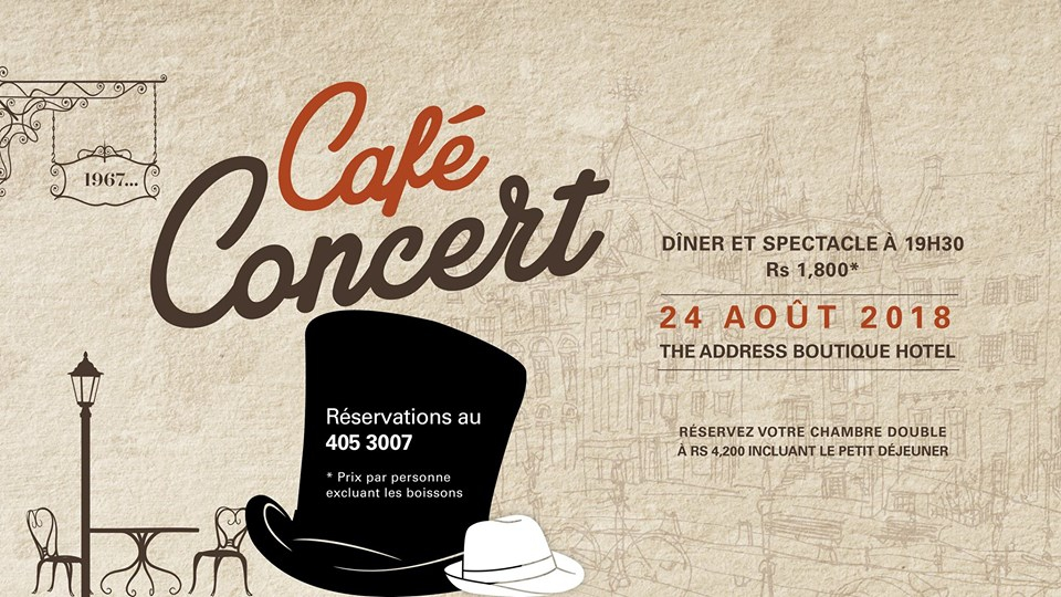 Cafe Concert at The Address Boutique Hotel