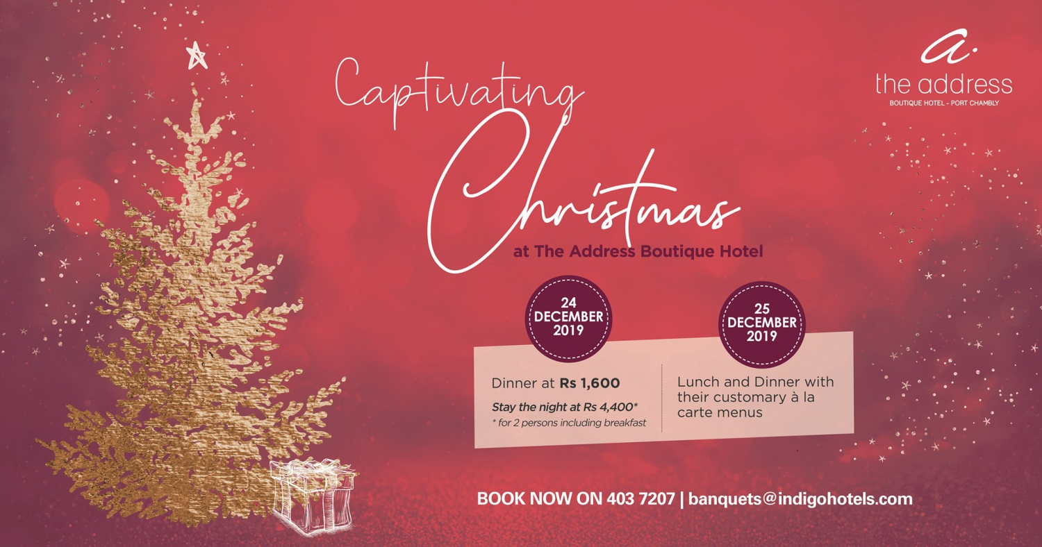 Captivating Christmas at The Address Boutique Hotel