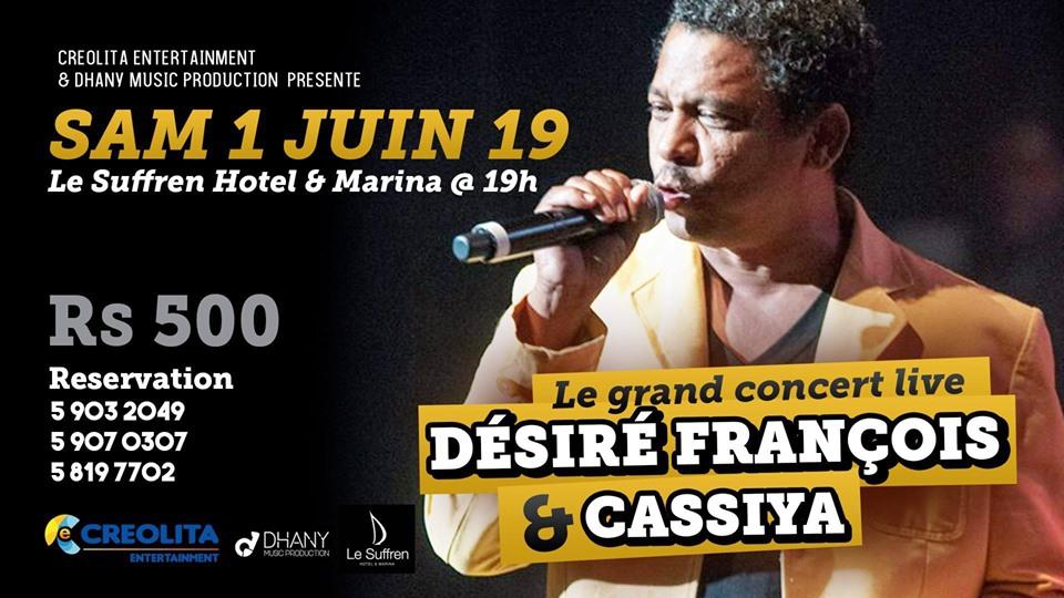 Cassiya Live at Le Suffren Hotel & Marina
