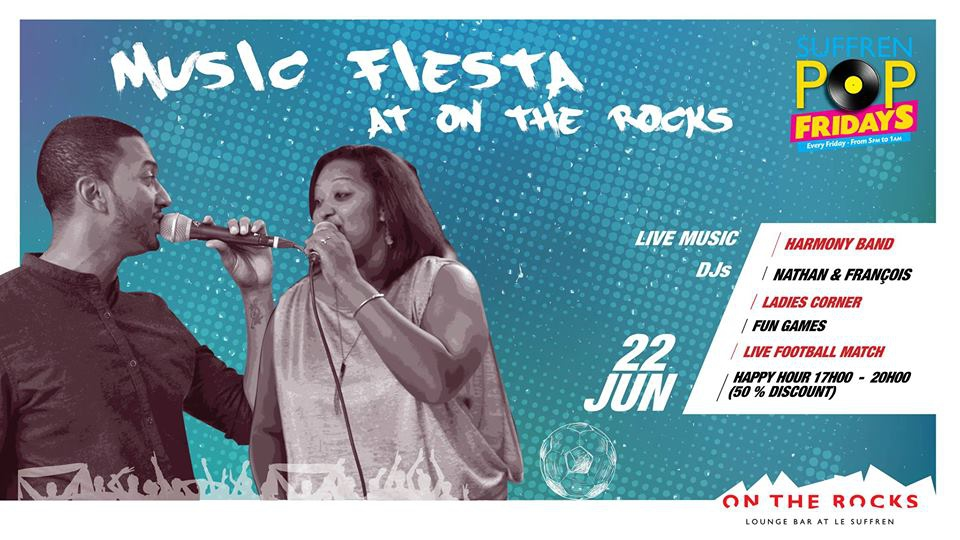Celebrate Music Day at On The Rocks!