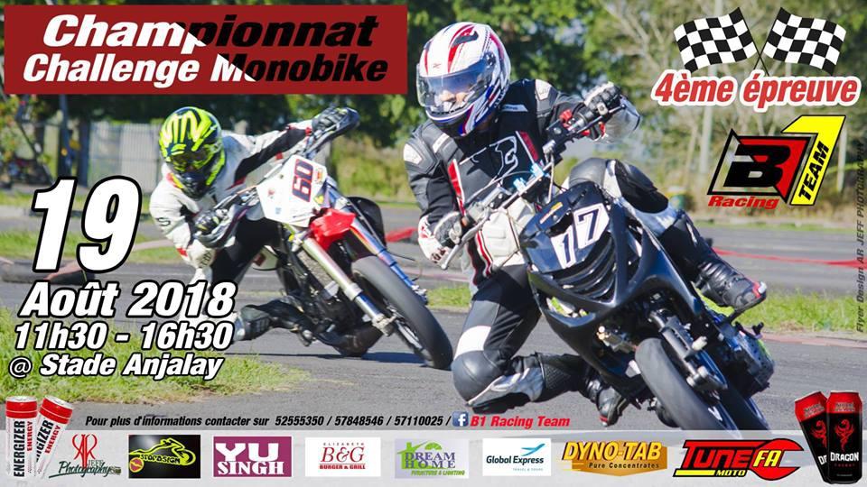 Championnat Challenge Monobike 2018 # 4eme épreuve
