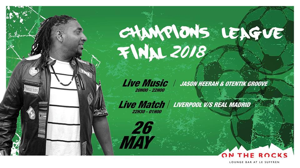 Champions League Final at On The Rocks
