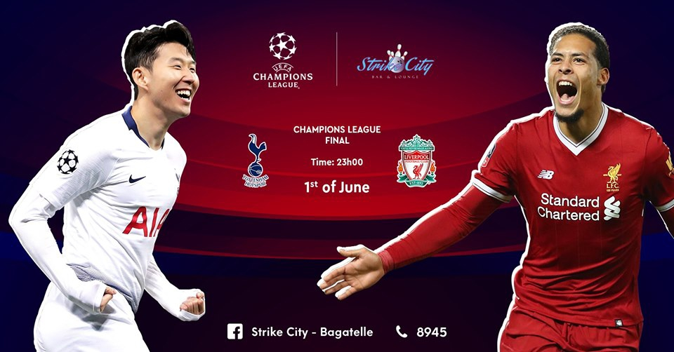 Champions League Final at Strike City