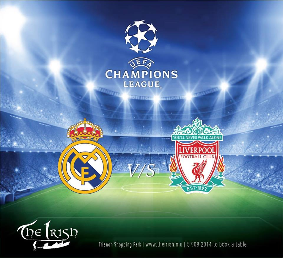 Champions League Final at The Irish