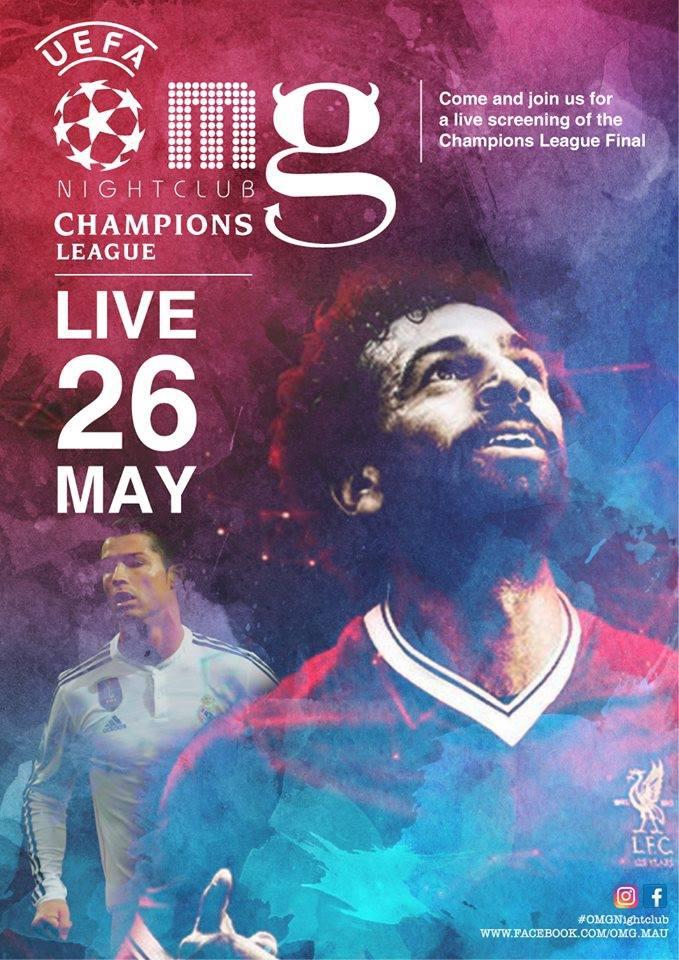Champions League Final OMG Grand Baie