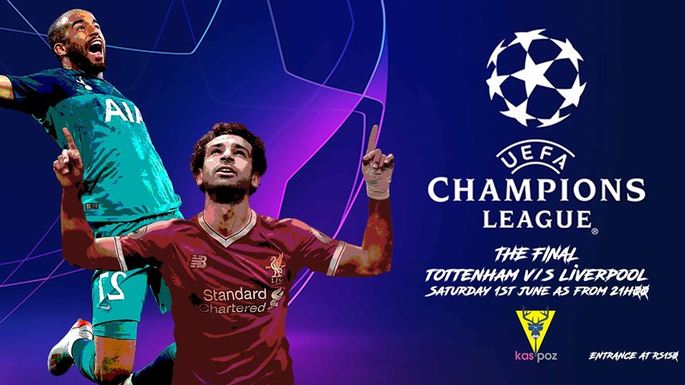 Champions League Final // Tottenham vs Liverpool // Kas Poz