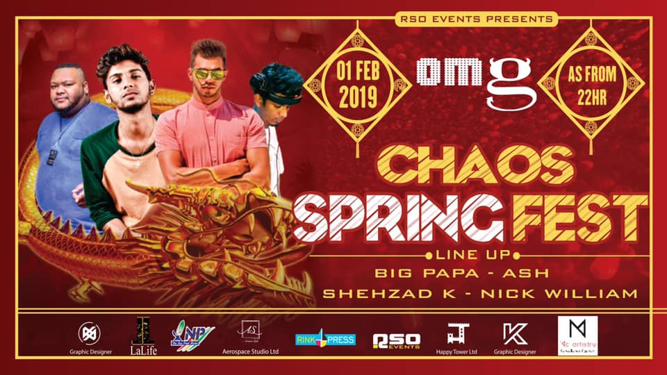 CHAOS SPRING FEST AT OMG
