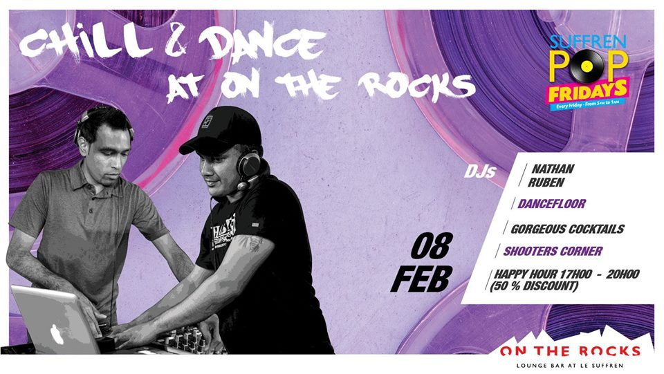 Chill & Dance at On The Rocks!