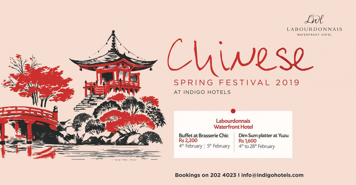 Chinese Spring Festival 2019 at Labourdonnais Waterfront Hotel