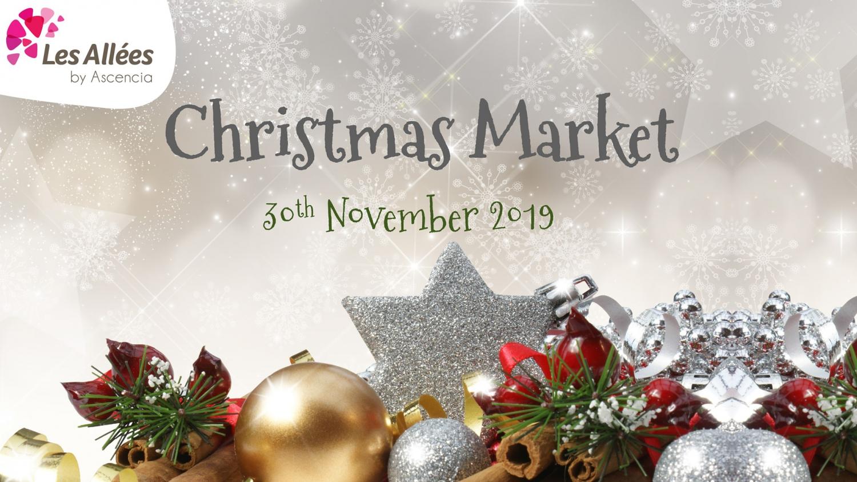 Christmas Market at Les Allées