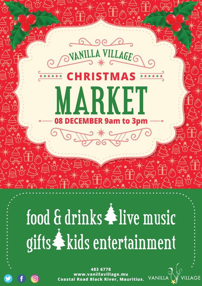 Christmas Market at Vanilla Village