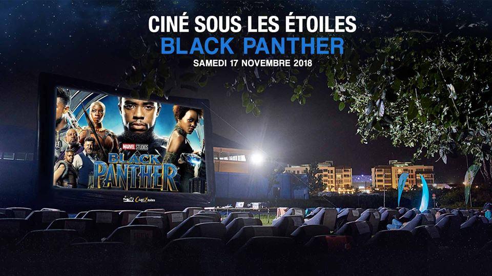 CINÉ SOUS LES ÉTOILES (OUTDOOR CINEMA) - BLACK PANTHER