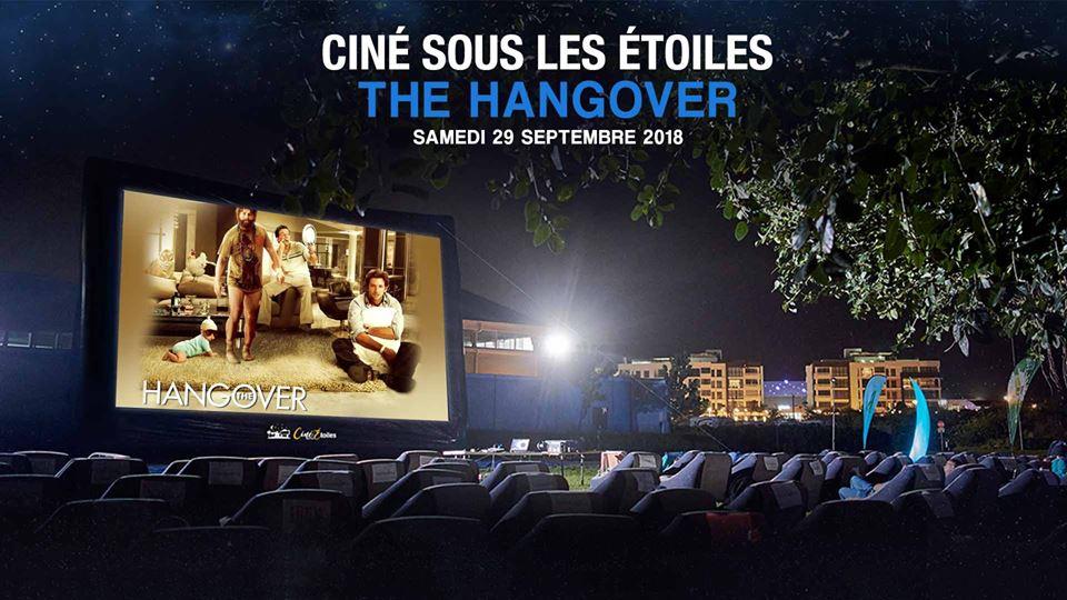 CINÉ SOUS LES ÉTOILES (OUTDOOR CINEMA) - THE HANGOVER