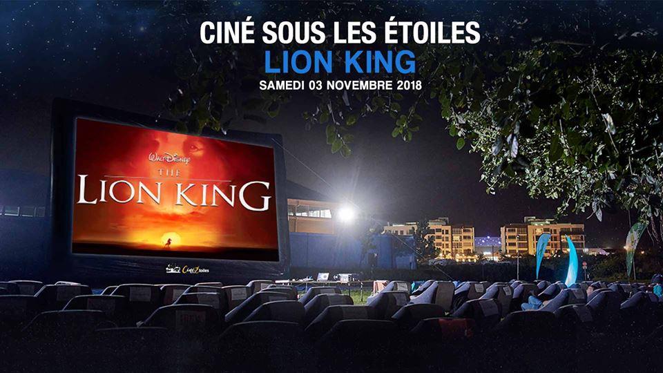 CINÉ SOUS LES ÉTOILES (OUTDOOR CINEMA) - THE LION KING