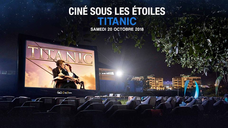 CINÉ SOUS LES ÉTOILES (OUTDOOR CINEMA) - TITANIC - SOLD OUT