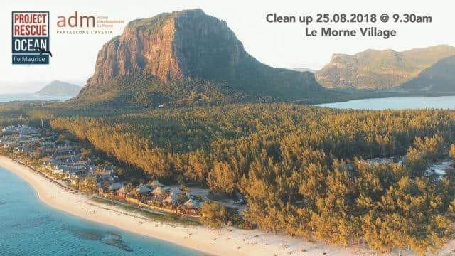 Clean Up Nou Le Morne